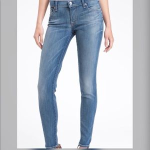 Seven for all mankind Gwenevere Skinny Jeans, 26